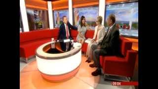 A.D. Garrett interview on BBC Breakfast