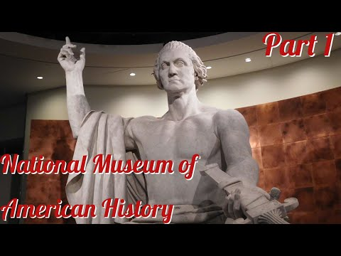 National Museum Of American History Part 1 - Transportation, Democracy & American Stories