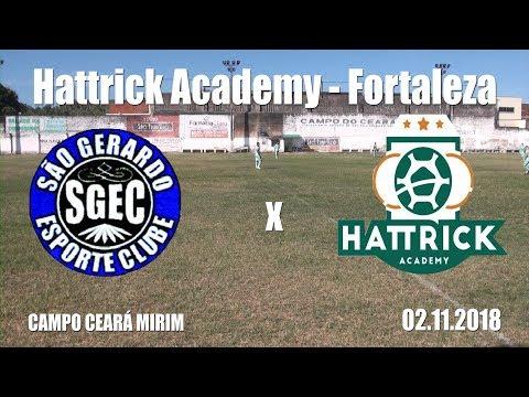 Hat Trick Academy X São Gerardo - JOGO COMPLETO - 02.11.2018