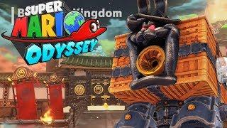 KRÓLICZY ROBOT - Let's Play Super Mario Odyssey #19 [NINTENDO SWITCH]