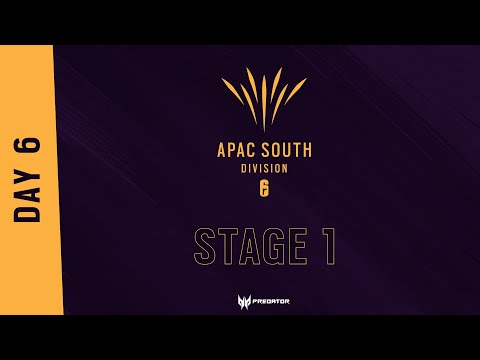 South APAC League 2021 - Stage 1 - Playday #6