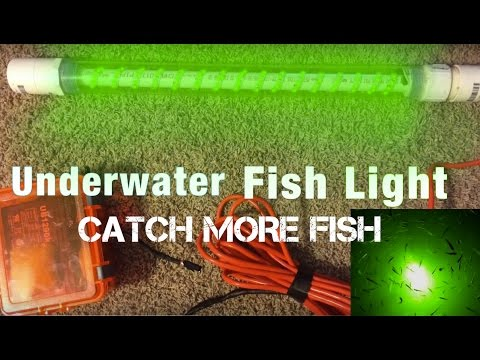 underwater fishing light - youtube, Reel Combo