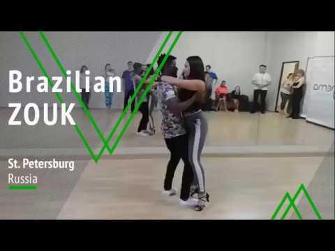 Walter & Oksana ZOUK Ipanema dance studio