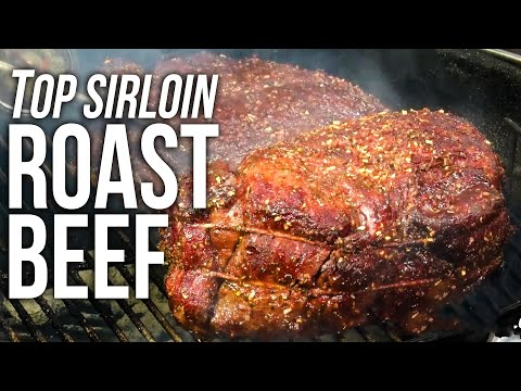 Top Sirloin Roast Beef recipe by the BBQ Pit Boys