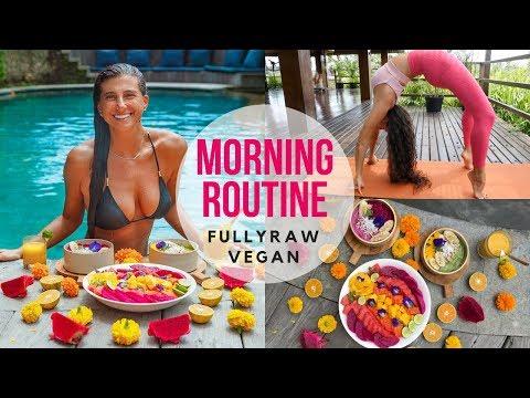 MY MORNING ROUTINE   FullyRaw Vegan
