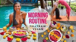 MY MORNING ROUTINE | FullyRaw Vegan