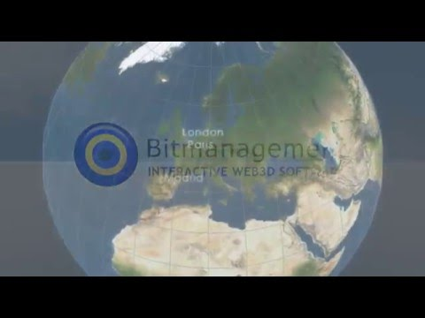 Interactive Web3D Software by Bitmanagement