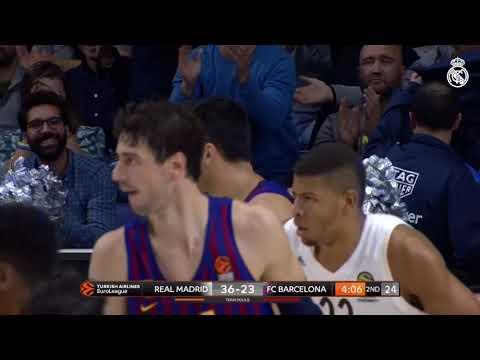 El impresionante triple de un argentino en un clásico español de básquet
