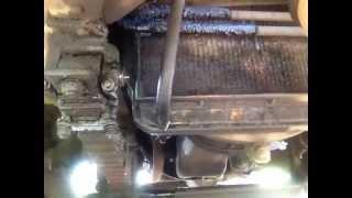 Замена масла в двигателе Камаз