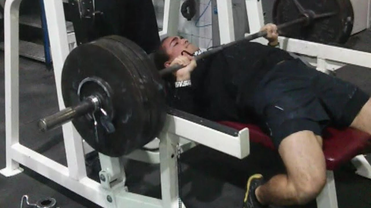 Paused bench press variation