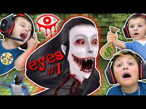 EYES!!!! EVERYWHERE!!!!!  (FGTEEV gets GURKEY w/ Chase, Shawn & Mike)