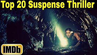 Top 20 Suspense Thriller Movies in World(Hindi Dubbed) as per imdb