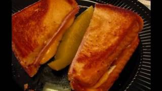 Betty's Grilled Ham And Cheese Sandwich With Herb Mayonnaise