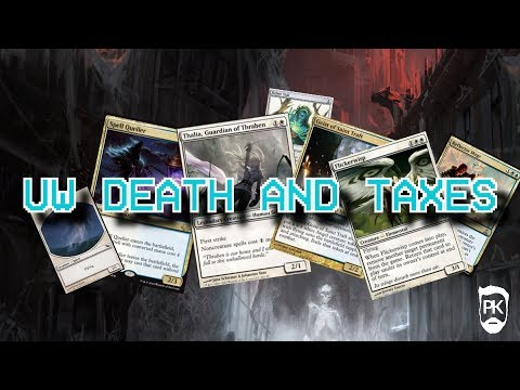 2SPOOKY4U - UW Death and Taxes - MTG Modern Gameplay