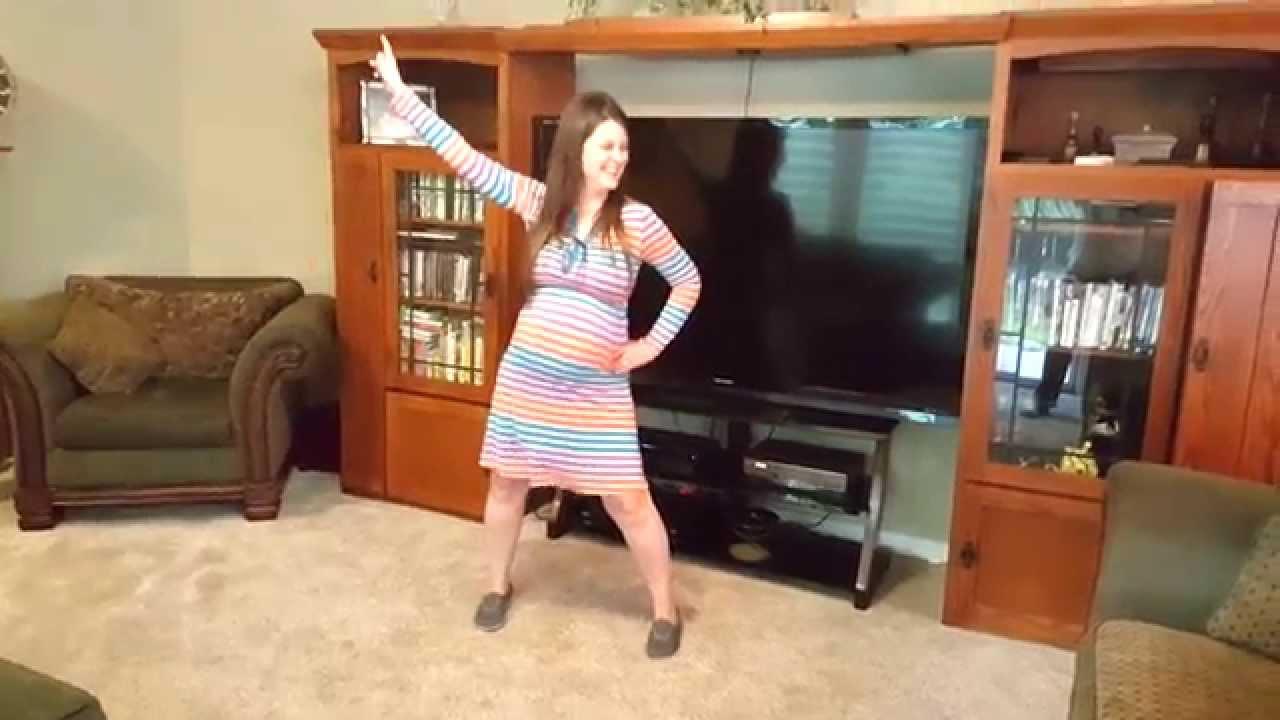 Dancing Pregnant Woman 73