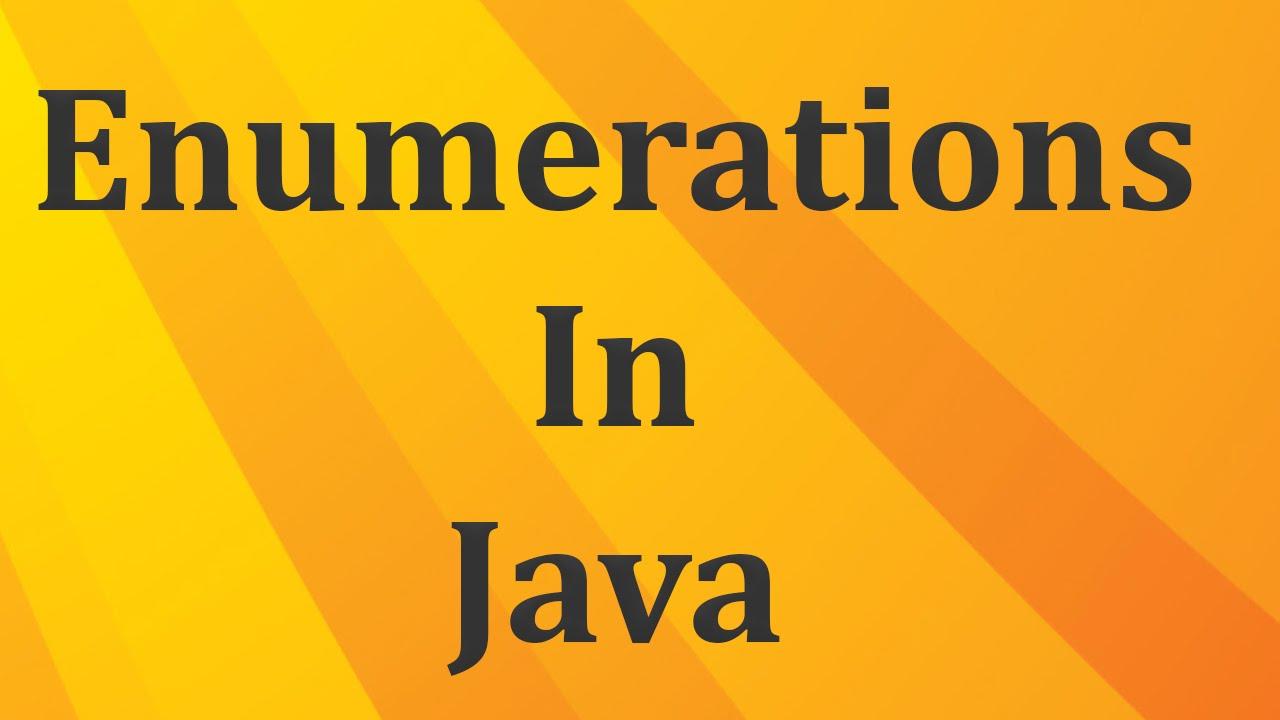 Java tutorial 26 enumerations in java enums in java java java tutorial 26 enumerations in java enums in java java beginners tutorials by java9s baditri Gallery
