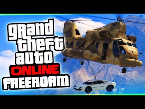 The Fortnite Drop | GTA 5 Online Freeroam
