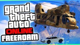 The Fortnite Drop   GTA 5 Online Freeroam