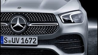 New Mercedes GLE 450 4matic AMG Line - modern luxury SUV