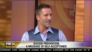 Self-Acceptance & Suicide Prevention - Dr Dain Heer on FOX 26 News Houston