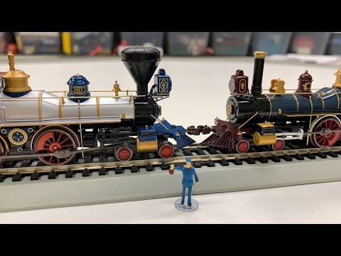 GOLDEN SPIKE 150th ANNIVERSARY BACHMANN #00827 Transcontinental w/ Sound Train Set