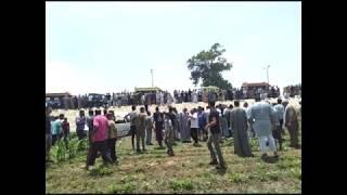 مصرع 7 واصابة 6 في حادث انقلاب ميكروباص ابو صوير