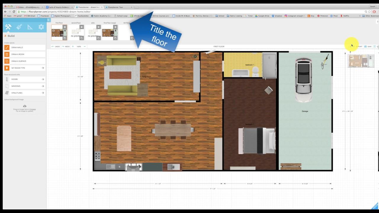 Planner 3D, add a floor, save/export