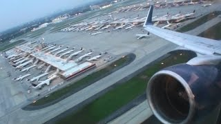Pratt & Whitney At Its Finest!!!  Glorious Sunset First Class HD 757 Takeoff From Atlanta!!!