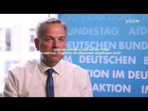 Geheime Zahlen über Flüchtlingsflieger: Interview mit Leif-Erik Holm (AfD)