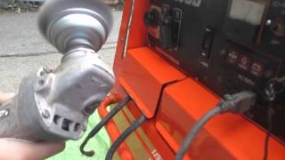 denyo デンヨー 防音型 エンジン 溶接機 発電機 blw 280ssy