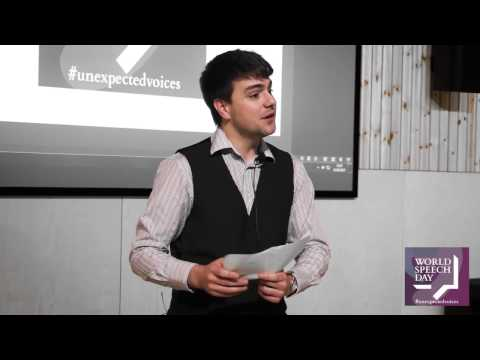 World Speech Day 2017 | 'Not Your Typical Pharmacist (To Be)' by Michael J Champion