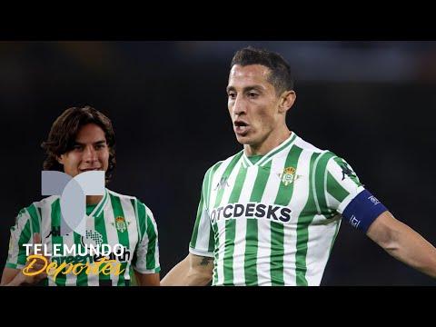 Andrés Guardado adopta a Diego Lainez | La Liga | Telemundo Deportes