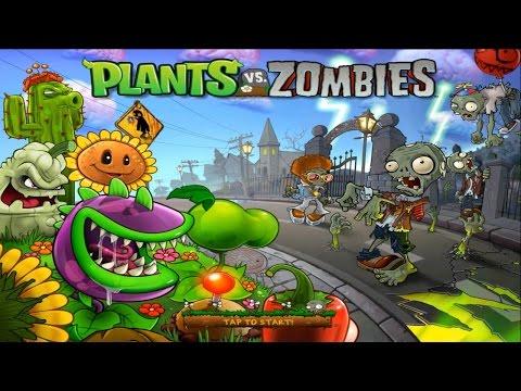 เกมส์พืชปะทะซอมบี้ Plants Vs Zombies Level 1- 5