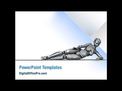 Robot powerpoint template backgrounds digitalofficepro 02958 robot powerpoint template backgrounds digitalofficepro 02958 toneelgroepblik Images