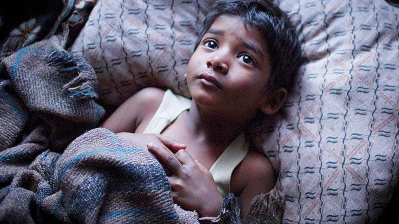 Sia - Never Give Up - Five year old Saroo gets lost on a train