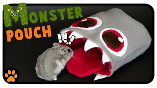 Hamster-Eating Monster Snuggle Pouch DIY | Spook Season 2018