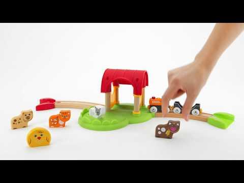 BRIO My First Railway - 33826 My First Farm