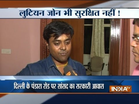 Loot at TMC leader Satabdi Roy's Delhi residence