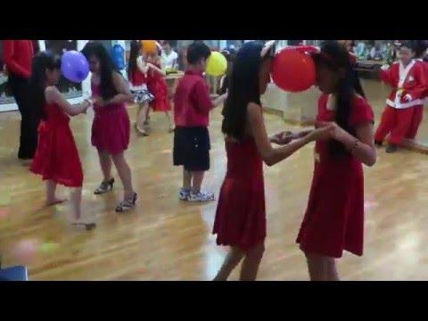 THIẾU NHI KHIÊU VŨ DỊP GIÁNG SINH TẠI THANH PHƯƠNG DANCE CLUB