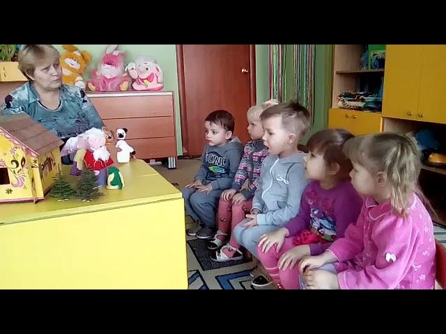 Изображение предпросмотра прочтения – ГульназНасырова читает произведение «Русская народная сказка Репка» (Русский фольклор )