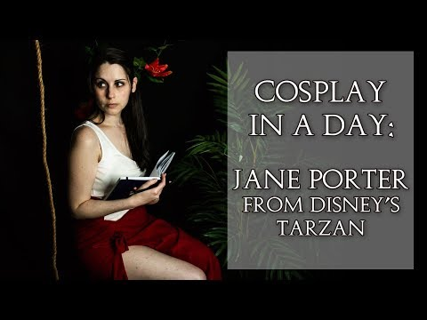 Cosplay In A Day: Jane Porter From Tarzan | Vlog