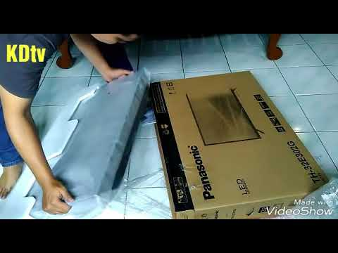 Unboxing TV Panasonic TH-32E302G, pemesanan lewat JD.id || FREE BRACKET & GRATIS ONGKIR