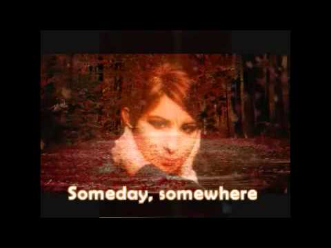 Barbra Streisand - Somewhere (with lyrics)