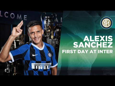 ALEXIS SANCHEZ'S FIRST DAY AT INTER! | #WelcomeAlexis 🇨🇱⚫🔵