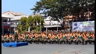Asyik banget Goyang Gemu Fa Mi Re Maumere & Yel Yel Calon Taruna Politeknik Ilmu Pelayaran Makassar
