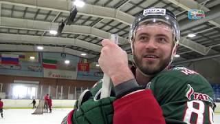 «Он теперь любит хоккей». Мастер-класс Артёма Лукоянова в Альметьевске
