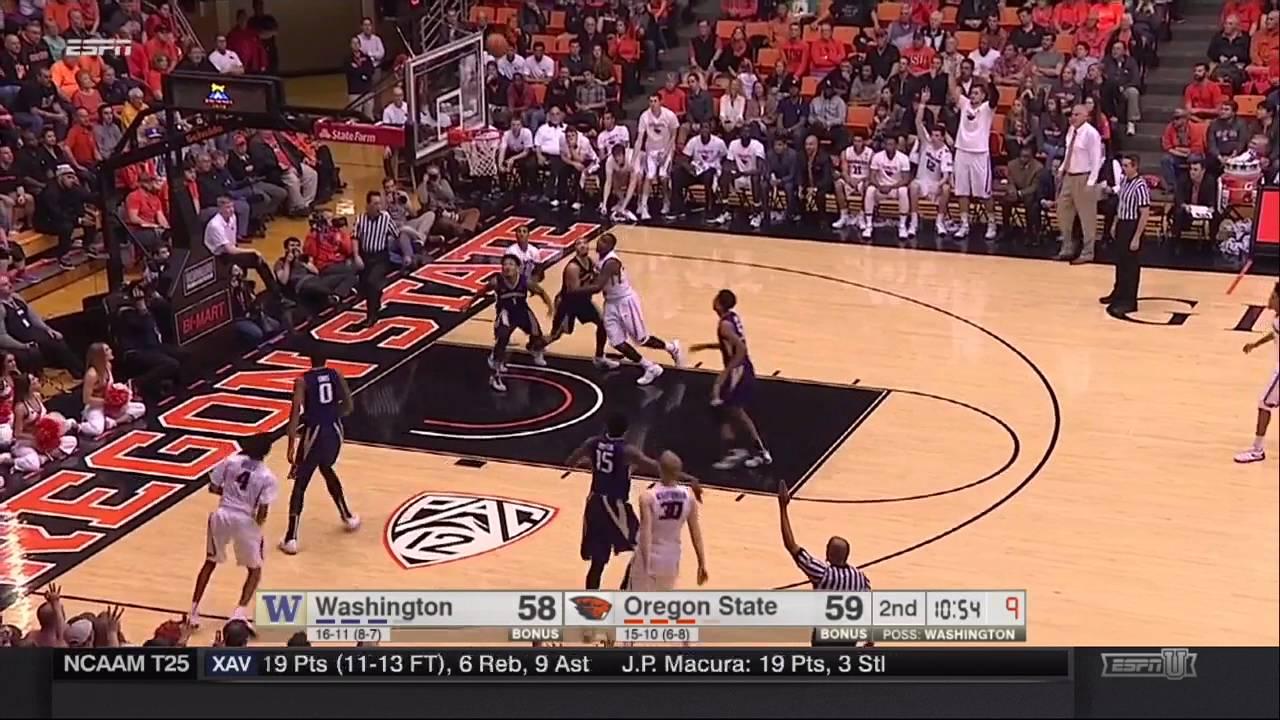 Download Oregon State Men's Basketball vs. UW Highlights - 2/24/16