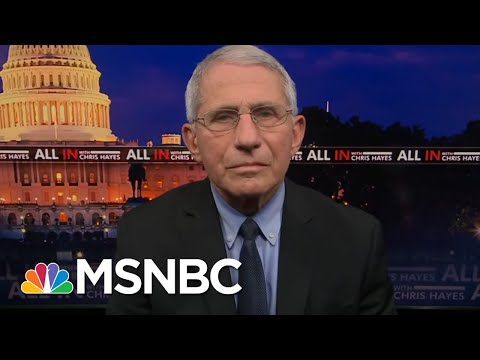 Dr. Fauci: 'Don't Declare Victory Prematurely'   All In   MSNBC