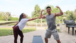 FULL BODY WORKOUT CHALLENGE! *VR180*