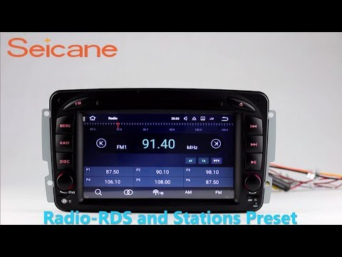 2 Din Radio 1998-2006 Mercedes Benz G Cl W463 dvd player navigation W Wiring Diagram on